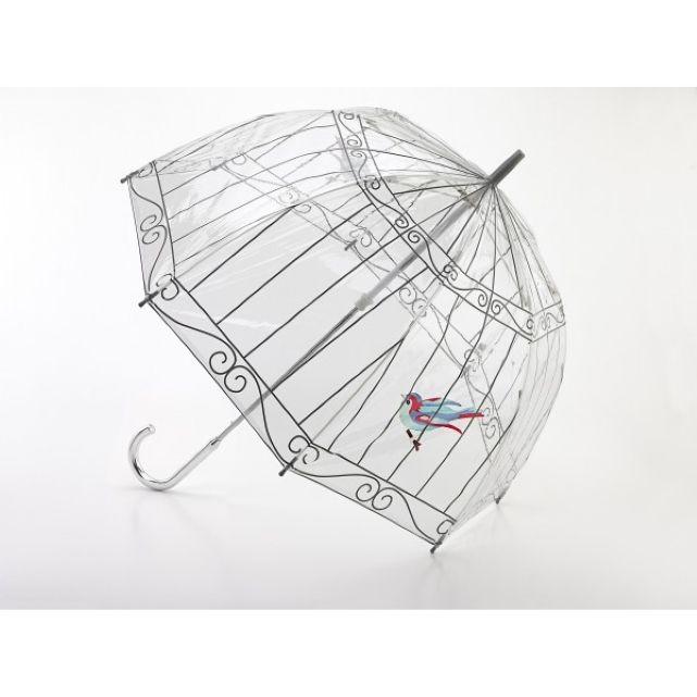 Parapluie transparent cloche Birdcage Lulu Guiness de Fulton, Autre