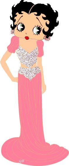 Betty Boop....sleek in pink!