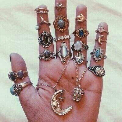 bohemian rings jewelry accessories