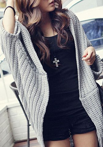 Shawl Knit Wear