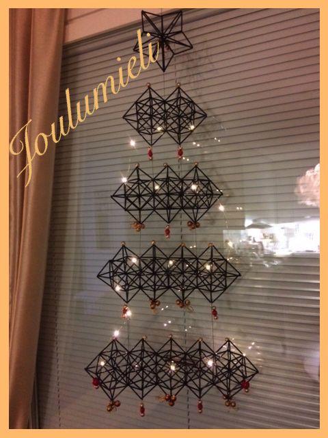 DIY Innostu - Onnistut: Joulukuusi sai koristeet