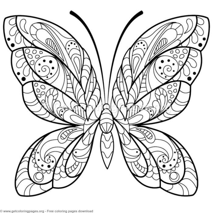 5 Zentangle Patterns Butterfly Coloring Pages Getcoloringpages Org Coloring Coloringbook Butterfly Coloring Page Mandala Coloring Pages Mandala Coloring
