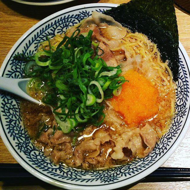 丸源の肉そば  4段階の味を楽しめます  #japan #okayama #ramen #日本 #岡山 #ラーメン #丸源 #肉 #そば #飯テロ