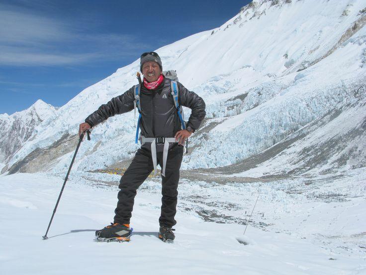 Apa Sherpa climbed Mt. Everest 21-times