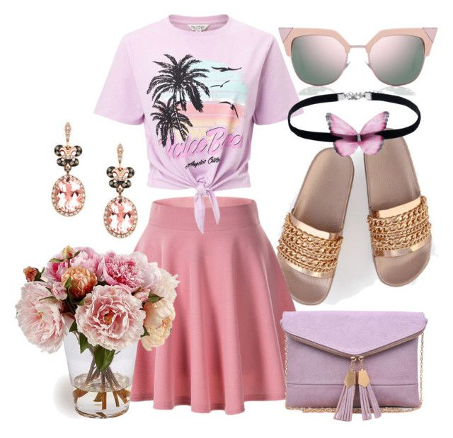 Summer is not over yet by illetilmote on Polyvore featuring Miss Selfridge, Urban Expressions, Effy Jewelry and Fendi