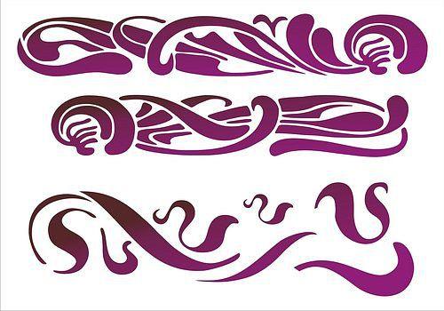 Шикарная подборка трафаретов( виньетки, уголки,узоры,..). Обсуждение на LiveInternet - Российский Сервис Онлайн-Дневников