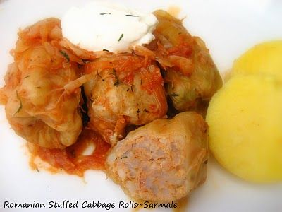 Home Cooking In Montana: Romanian Sarmale....Stuffed Cabbage Rolls (a lighter version)