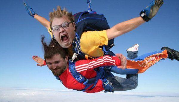 Классический прыжок с парашютом
