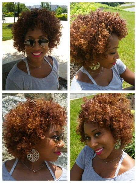 Crochet Braid Curly Fro With Spring Curl By The Winner S