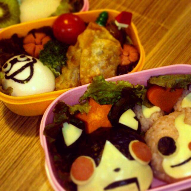 息子の社会見学のお弁当に頑張りました! - 10件のもぐもぐ - 妖怪ウォッチ弁当 by takatokki