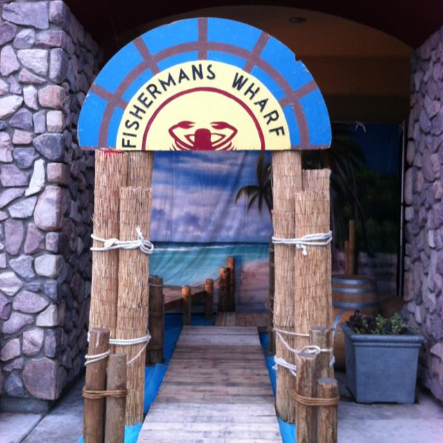 Nautical Event Decor: Fishermans Warf Entrance Created By Bulldog Expo & Decor