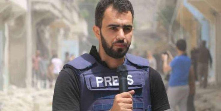 29χρονος ρεπόρτερ από τη Συρία βραβεύτηκε ως «Δημοσιογράφος της Χρονιάς»