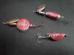Resultado de imagen para homemade lures for fishing