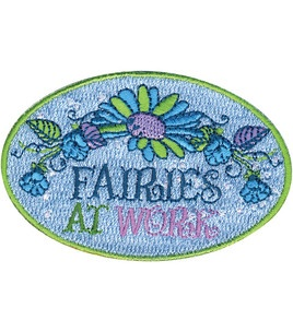 "Disney Tinker Bell Iron On Applique-Fairies At Work 3""X2 ..."