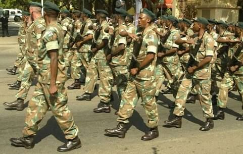ARMY DEPLOYMENT TO PARLIAMENT ANGERS SOUTH AFRICAN OPPOSITION MPS
