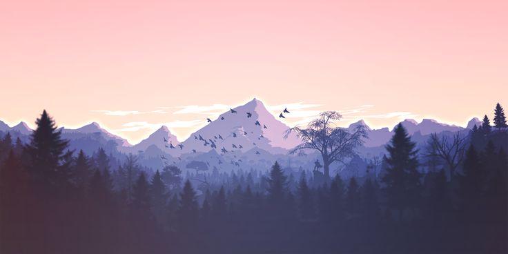 Die besten Grafikdesigns der Berge zum Download