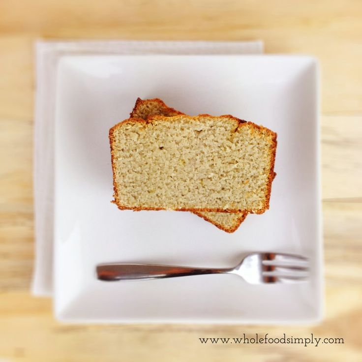 Lemon and Coconut Loaf. Free from gluten, grains, dairy, nuts and refined sugar. Enjoy.