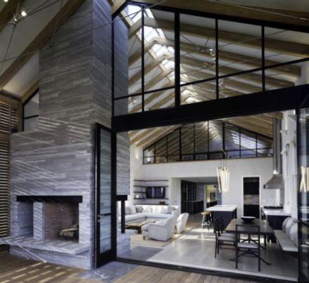 Barn conversion no windows