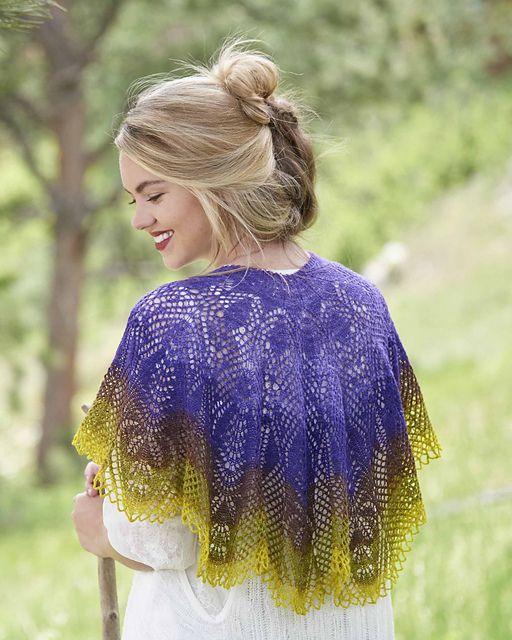 204 best Shawls images on Pinterest | Knit scarves, Knit ...