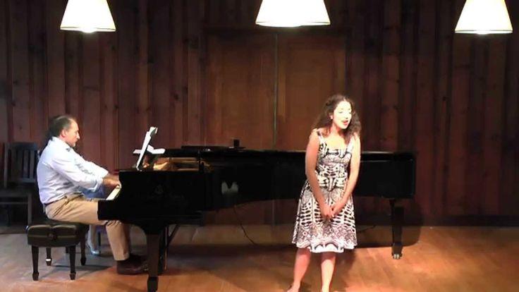 Nicole Rivera, mezzo & Charis Dimaras, pianist [Frauenliebe, Schumann]