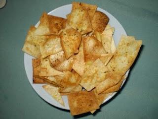 Pita Bread Bites - easy, and always impresses