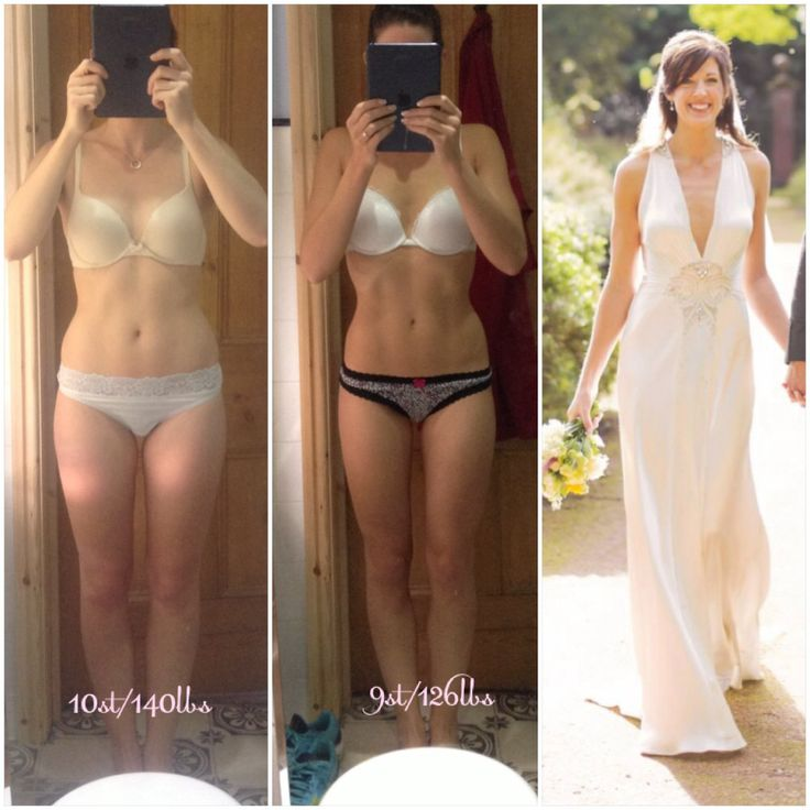 lose weight 2 months before wedding