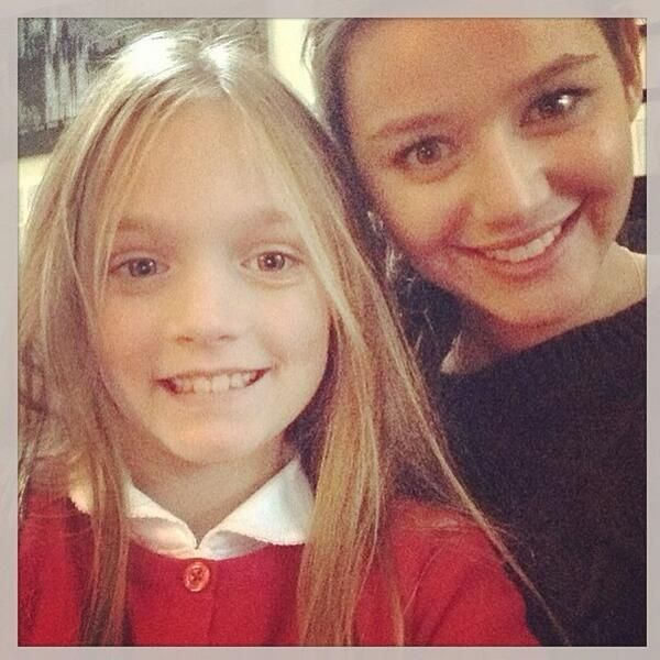 Daisy and Eleanor! Does anyone else find it crazy that all of Louis's sisters look just like their mom!!??!!