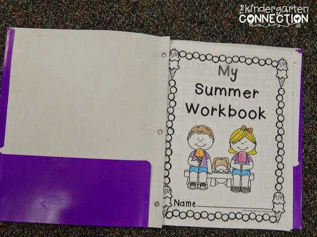 Kindergarten Summer Review {with freebies!}