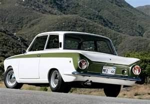 A British icon in cars, 1966 Ford Lotus Cortina Mk1