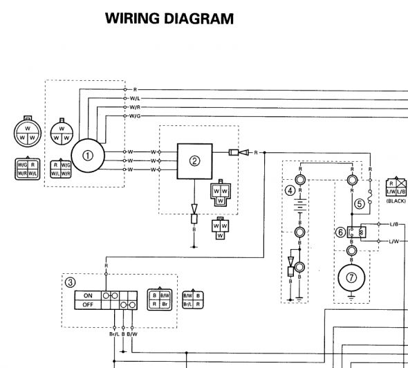 1998 yamaha atv wiring diagram  three phase plug wiring