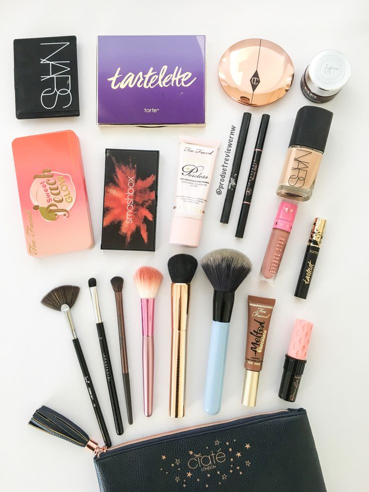 17 Best Ideas About Makeup Bag Essentials On Pinterest