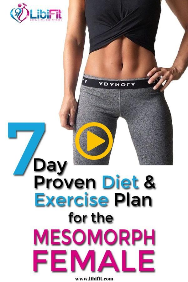Here is a great mesomorph female diet.  If you are a mesomorph woman looking for…