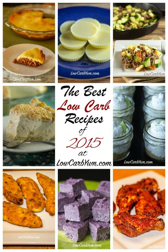 The best low carb recipes of 2015 at Low Carb Yum.