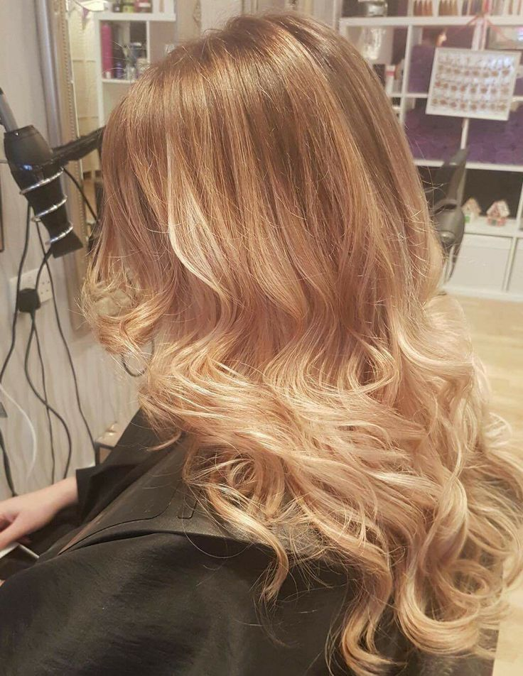 Root Stretch Ombr 233 Cool Blonde Long Hair Styles Hair