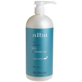 Alba Botanica Bath And Shower Gel Midnight Tuberose 32 Ounce Bottle Alba Alba Botanica