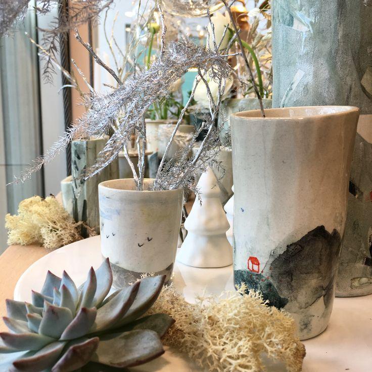 Elise lefebvre chez Pompon / ceramique pièce unique  fait main handmade ceramics