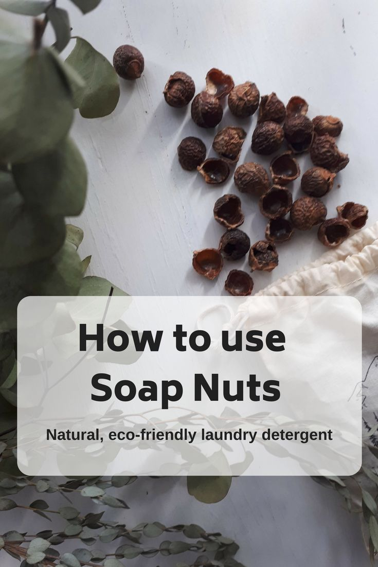 What The Heck Are Soap Nuts And How Do You Use Them