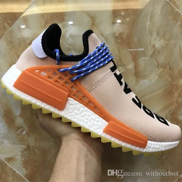 on sale a68d2 cc785 2017 Boost Human Race Knitting Running Shoes Original Human ...