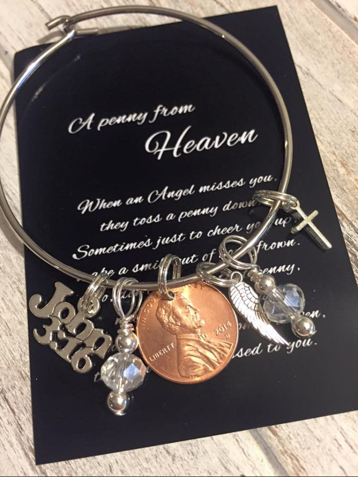 Penny from Heaven bracelet .... Visit me at body confetti ...