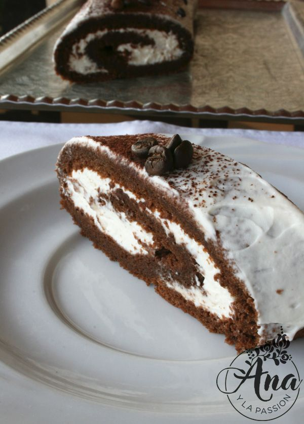 Mascarpone - chocolate swiss roll - heavenly sin worth every second you work on it :)