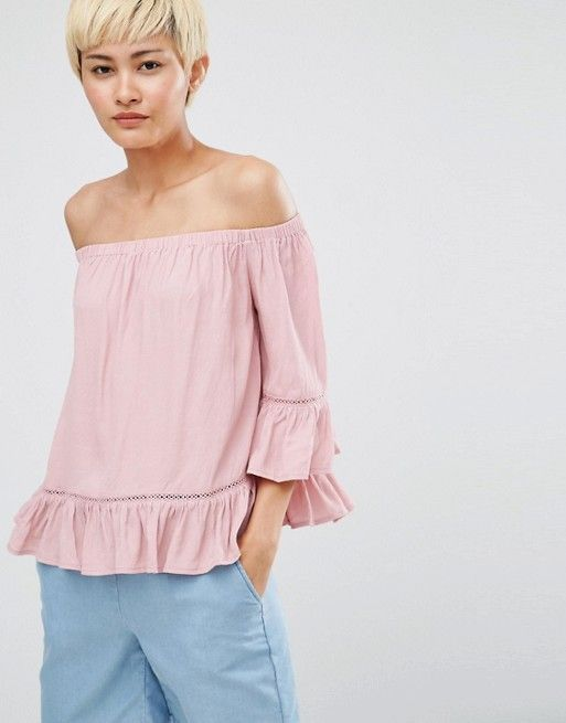 Minimum   Minimum – Gunta – Schulterfreie Bluse
