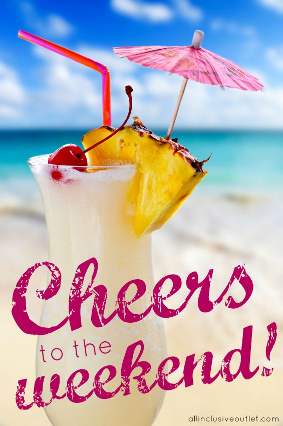 Cheers to the weekend!... Florida baby!