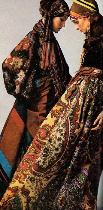 Gypsy:  #Bohemian fashion.