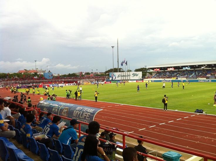 Chonburi Stadium สนามเหย้าของ ฉลามชล Chonburi FC