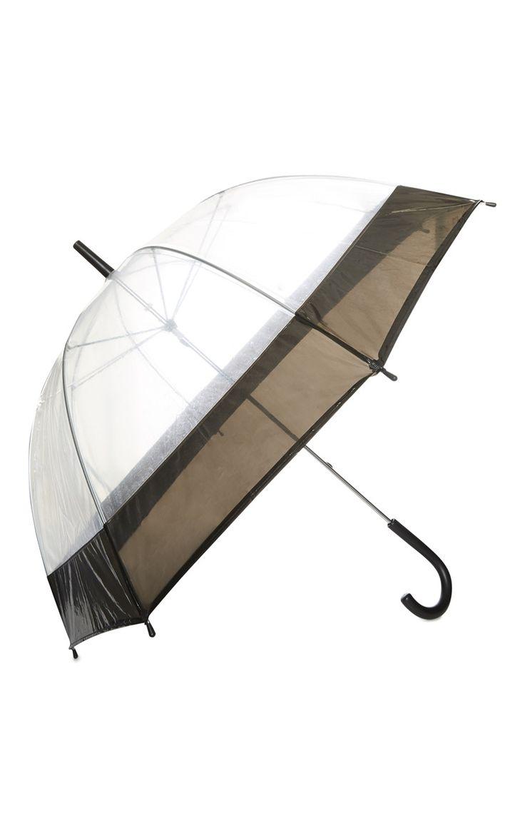 Primark - Doorzichtige paraplu