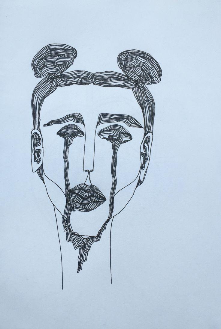 Sleepy tears. - Astrid Rosenberg