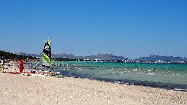 Playa de Muro Beach, North Mallorca