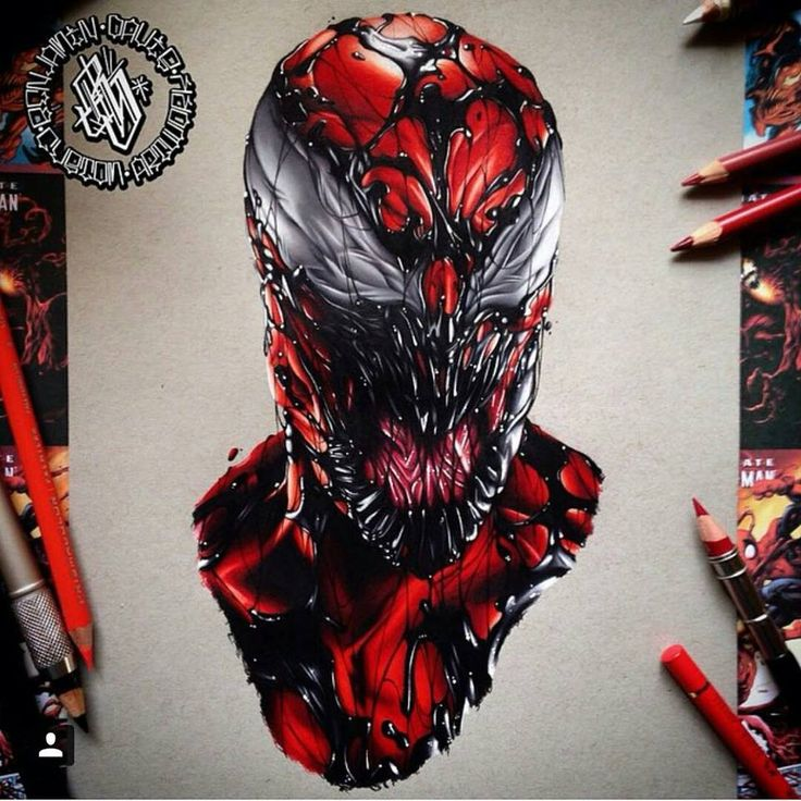 Venom Carnage Tattoo: 1000+ Images About Tattoos On Pinterest
