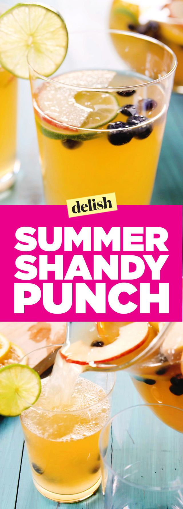 Summer Shandy Punch Is Our Favorite Way to Hydrate