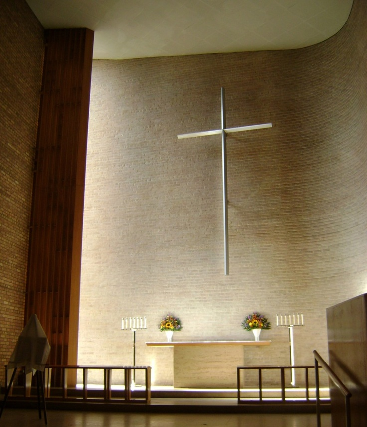 Christ Church Lutheran by Eliel and Eero Saarinen, Minnesota, USA